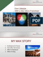 Max International Power Point Presentation slides USA-CAN PPT