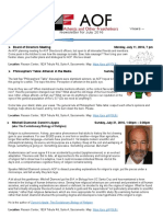 2016 07 July Aof Newsletter