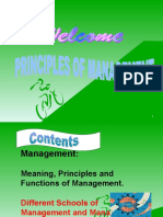 Principles of Management- PSOCC