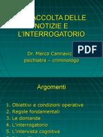 Techniche Per Interrogare Di m. Cannavicci
