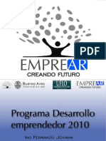 Desarrolloemprendedor Tercerencuentro2010 100722102851 Phpapp01