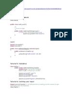 Java Course - Beginner