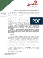 Debate Cambio Denominación via Publica.-Punto7º