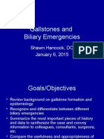 Gallstones and Biliary Emergencies 2015