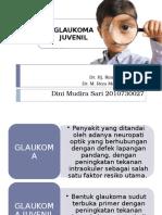 glaukoma juvenil