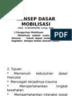 Konsep Dasar Mobilisasi (1)