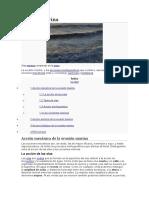 Erosión marin
