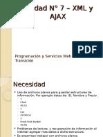 Unidad 7 - XML Ajax