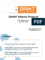 Dash7 Alliance Mode Technical Presentation
