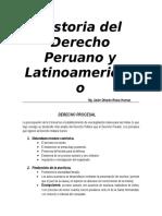 Historia Del Derecho Peruano y Latinoamericano
