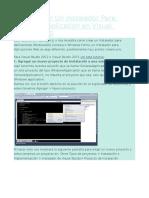 Como Crear Un Instalador en Visual Studio 2010