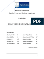 "Graduation Project on ""SMART HOMES & RENEWABLE ENERGY"""