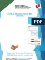 Metodo Simplex y Geogebra