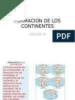 Formacion Continentes.presentacion Power Point Analgibia