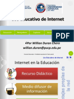 Uso Educativo de Internet