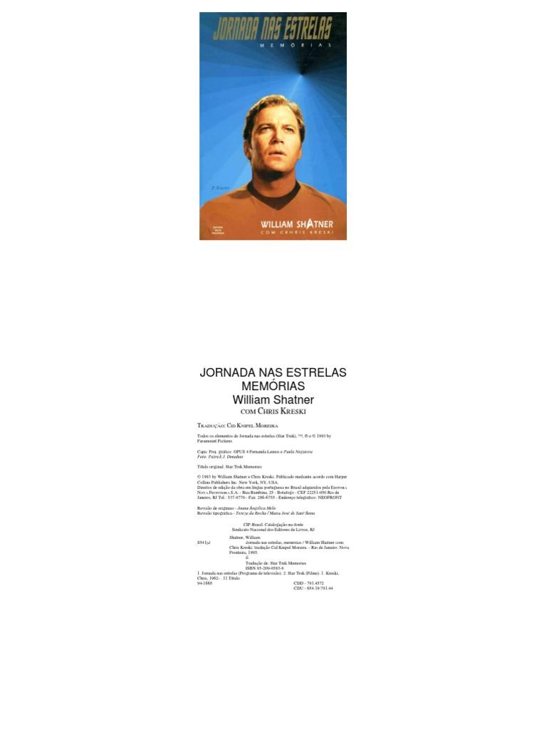 efc883473 Jornada+nas+Estrelas Memórias William Shatner
