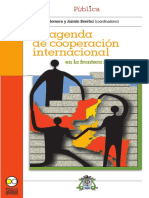 Agenda de cooperación internacional