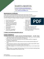 resume- kanahiya
