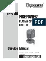 Firepower FP-70A Service Manual