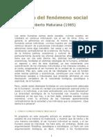 MaturanaBiologiadelfenomenosocial