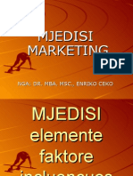 Mjedisi Marketing Prezantim Dr. MBA, MSc., Enriko Ceko