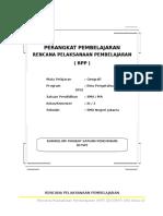 RPP Geografi Kelas XII_Semester 2