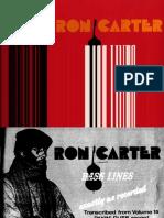 Bass Guitar Lessons - Ron Carter Bass Lines 01
