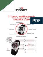 Istruzioni Per l Uso DEL TISSOT T-ToUCH