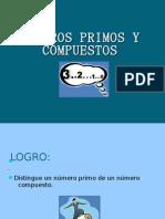 NÚMEROS PRIMOS Y COMPUESTOS ALVARO PACHECO