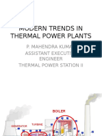 Modern Trends in ThermODERN TRENDS IN THERMAL POWER PLANTS.pptal Power Plants