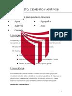 Concreto, Cemento y Aditivos- informe.docx