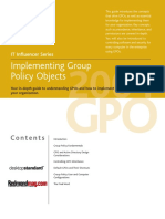 Implementing Gpo