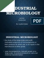 Industrial Microbiology Lec 1