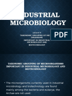 Industrial Microbiology Lec 4