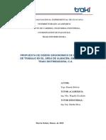 Informe de Pasantia Ramon_Bolivar