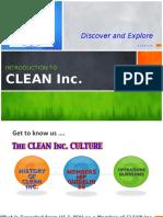 CLEAN Orientation Slides