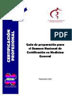 Guia Examen Conamege 2012
