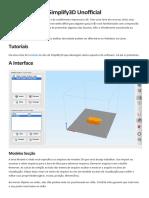 Simplify3d-Docs Resumo Dos Comandos PT-Br