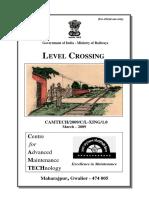 Handbook on Level Crossing(1)