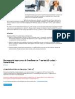 Info Registro Plan Renove HP DesignJet