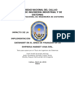 Informe Final Impacto de La Implementación de Un Datamart