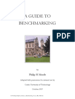 Guide to Benchmarking Oct2007