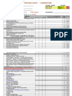 Lab Audit Checklist ( PRIDE ) - 2014