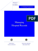 Managing Hospital Records