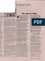 Autism article from 80's