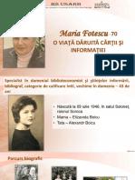 Maria Fotescu - 70