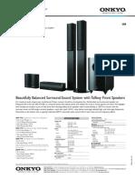 Onkyo Sks-ht728 Datasheet