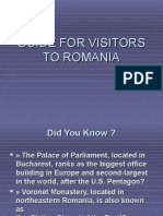 Guide for Visitors to Romania (1)
