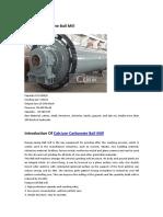 Calcium Carbonate Ball Mill.pdf