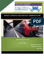 Project Logistics & Contract Admin